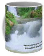 Psalm 51 2 Coffee Mug by Kristin Elmquist