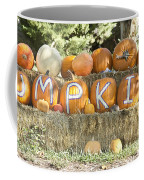 Pumpkins P U M P K I N S Coffee Mug by James BO  Insogna