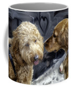 Puppy Love Coffee Mug by Madeline Ellis