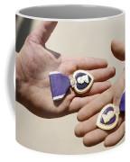 Purple Heart Recipients Display Coffee Mug by Stocktrek Images