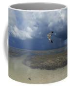 Rain Falls From A Huge Cloud Coffee Mug by Raul Touzon