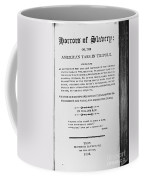 Ray: Horrors Of Slavery Coffee Mug by Granger