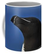 Razorbill Portrait Coffee Mug by Tony Beck