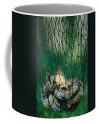 Red Fox Vulpes Vulpes In A Soft Trap Coffee Mug by Joel Sartore