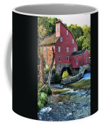 Red Mill On The Water Coffee Mug by Paul Ward