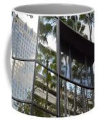 Reflections Of Tampa Coffee Mug by Carol  Bradley
