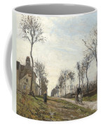 Road In Louveciennes Coffee Mug by Camille Pissarro