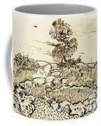 Rocky Ground At Montmajour Coffee Mug by Vincent van Gogh