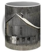 Rustic Weathered Mountainside Cupola Barn Coffee Mug by John Stephens