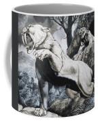 Sabre-toothed Tigers Coffee Mug by Richard Hook