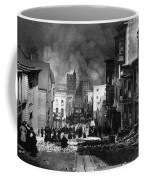 San Francisco Burning After 1906 Coffee Mug by Science Source