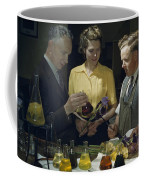 Scientists Examine Results Of Tests Coffee Mug by B. Anthony Stewart