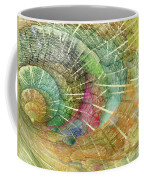 Season Of The Shell Coffee Mug by Betsy Knapp