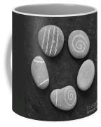Serenity Stones Coffee Mug by Linda Woods