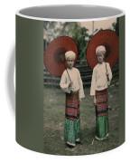 Shan Women Wearing Traditional Colorful Coffee Mug by W. Robert Moore