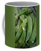 Snap Peas Please Coffee Mug by Susan Herber