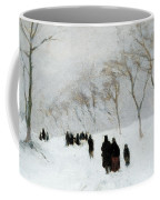 Snow Storm Coffee Mug by Anton Mauve