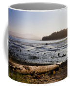 Sointula With The Mountains Coffee Mug by Taylor S. Kennedy