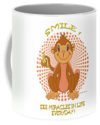 Spunky The Monkey Coffee Mug by John Keaton