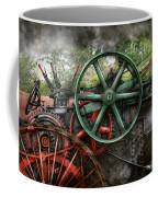 Steampunk - Machine - Transportation Of The Future Coffee Mug by Mike Savad