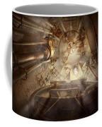 Steampunk - Naval - The Escape Hatch Coffee Mug by Mike Savad