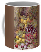 Still Life With Fruit Coffee Mug by Oliver Clare