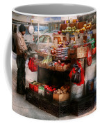 Store - Ny - Chelsea - Fresh Fruit Stand Coffee Mug by Mike Savad