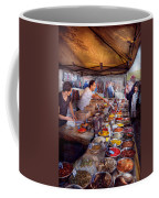 Storefront - The Open Air Tea And Spice Market  Coffee Mug by Mike Savad