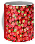 Strawberries  Coffee Mug by Yali Shi