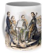 String Quartet, 1846 Coffee Mug by Granger