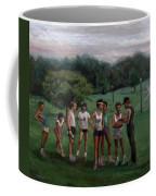 Summer Evening Meet Coffee Mug by Sarah Yuster