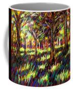 Sunlight Through The Trees Coffee Mug by John  Nolan