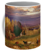Sunshine After Storm Or Sunset Coffee Mug by George Snr Inness