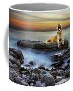 Surreal Lioness Coffee Mug by Carlos Caetano