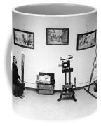 Surveillance Equipment, 19th Century Coffee Mug by Science Source