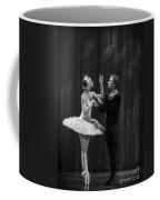 Swan Lake  White Adagio  Russia Coffee Mug by Clare Bambers