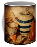 Tea And Pear Coffee Mug by Toni Hopper
