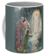 The Appearance Of The Angel Coffee Mug by Ambrose Dudley