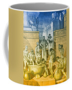 The Art Of Brewing, Babylon Coffee Mug by Science Source