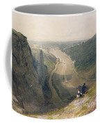 The Avon Gorge - Looking Over Clifton Coffee Mug by Francis Danby