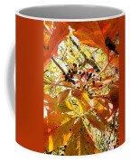 The Beauty In Dying Coffee Mug by Trish Hale