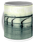 The Confederation Bridge Pei Coffee Mug by Edward Fielding