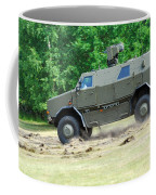 The Dingo 2 In Use By The Belgian Army Coffee Mug by Luc De Jaeger