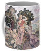 The Excursionists Coffee Mug by Henri-Edmond Cross