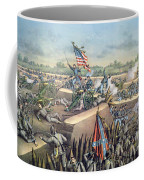 The Fall Of Petersburg To The Union Army 2nd April 1965 Coffee Mug by American School