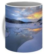 The Fjord Of Tjeldsundet In Troms Coffee Mug by Arild Heitmann