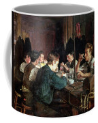 The Glass Blowers Coffee Mug by Charles Frederic Ulrich