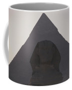 The Great Sphinx Is Framed Coffee Mug by Stephen St. John
