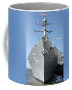 The Guided Missile Destroyer Uss Cole Coffee Mug by Stocktrek Images