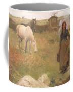 The Gypsy Camp Coffee Mug by Harold Harvey
